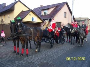 Przejazd św. Mikołaja przez Bukówiec